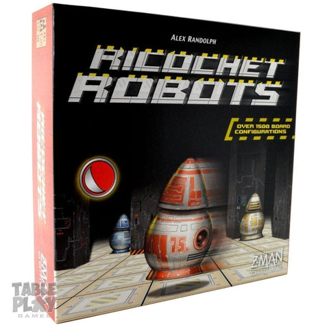 Ricochet Robots [Board Game, 1-15 Players]