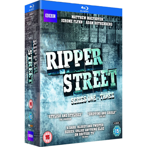 Ripper Street - Series 1-3 [Blu-Ray Box Set]