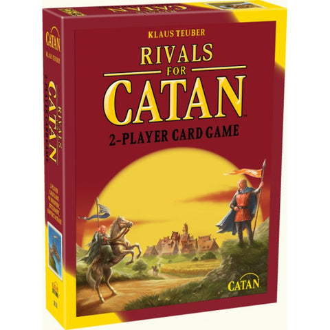 Rivals For Catan - Deluxe Edition [Card Game, 2 Players, Ages 10+]