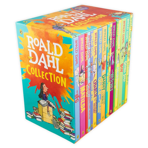 Roald Dahl Collection [16 Paperback Book Set]