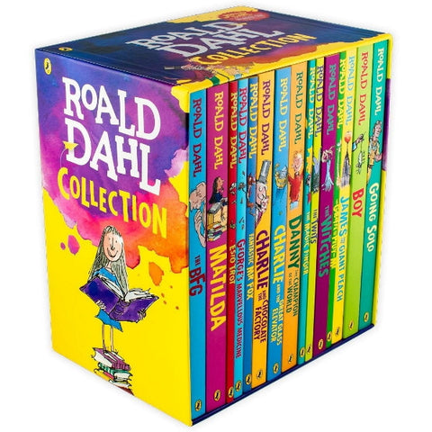 Roald Dahl Phizz Whizzing Collection [15 Paperback Book Set]