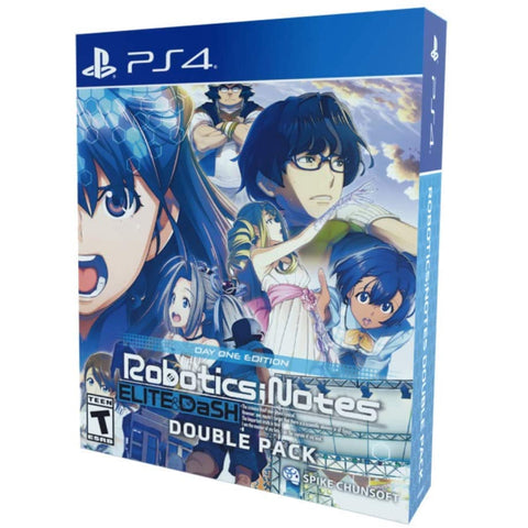 Robotics; NOTES Elite & DaSH Double Pack - Day One Edition [PlayStation 4]