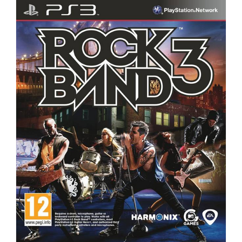 Rock Band 3 [PlayStation 3]