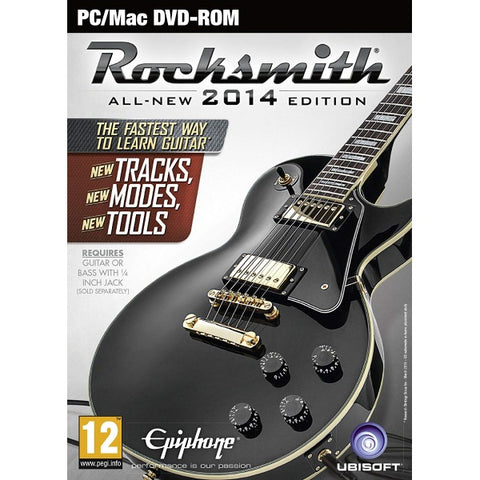 Rocksmith All-New Remastered 2014 Edition w/ Tone Cable [Mac & PC]