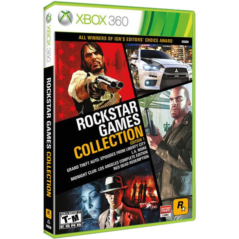 Rockstar Games Collection: Edition 1 [Xbox 360]