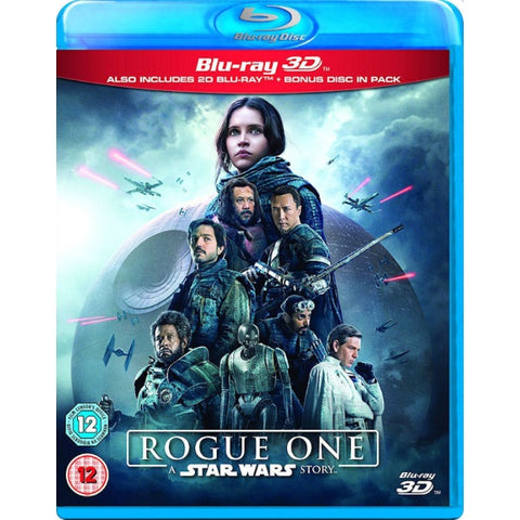 Rogue One: A Star Wars Story 3D [3D Blu-Ray]