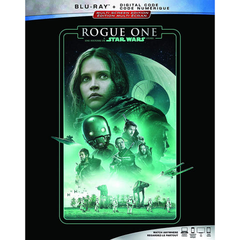 Rogue One: A Star Wars Story [Blu-ray + Digital]