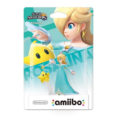 Rosalina & Luma Amiibo - Super Smash Bros. Series [Nintendo Accessory]