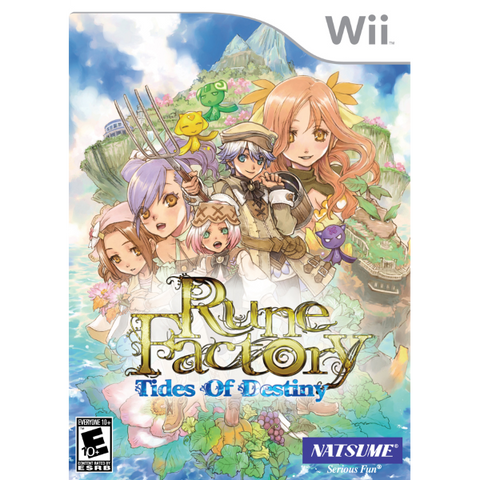 Rune Factory: Tides of Destiny [Nintendo Wii]