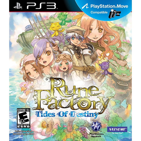 Rune Factory: Tides of Destiny [PlayStation 3]