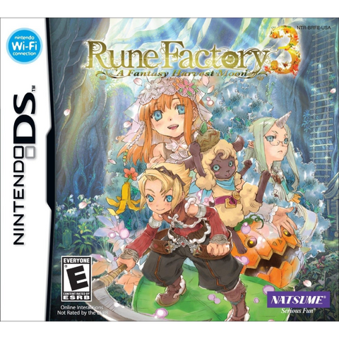 Rune Factory 3: A Fantasy Harvest Moon [Nintendo DS DSi]