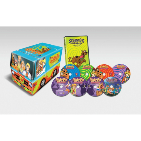 Scooby-Doo, Where Are You! - The Complete Series Collection [DVD Box Set]