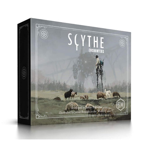 Scythe: Encounters Expansion [Board Game, 1-7 Players]