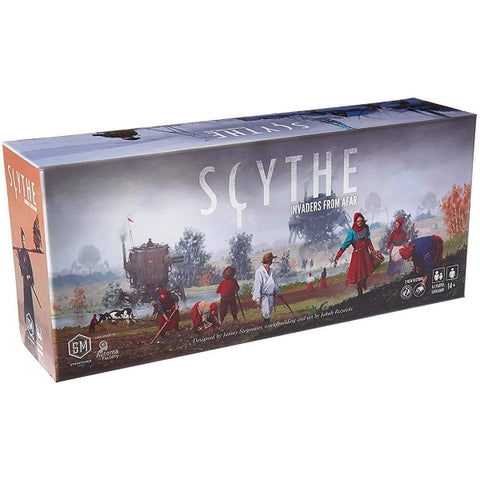 Scythe: Invaders from Afar Expansion [Board Game, 1-7 Players]