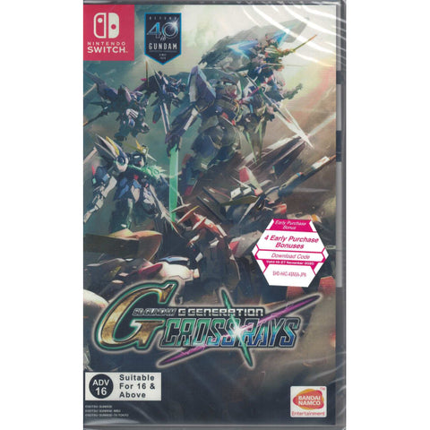 SD Gundam G Generation Cross Rays [Nintendo Switch]