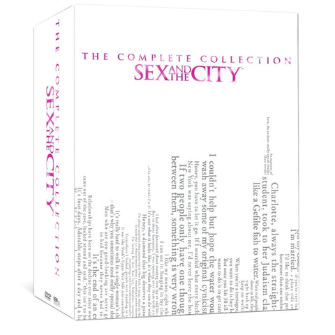 Sex and the City: The Complete Collection [DVD Box Set]