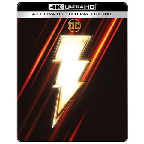 Shazam! - 4K Limited Edition SteelBook [Blu-ray + 4K UHD + Digital]