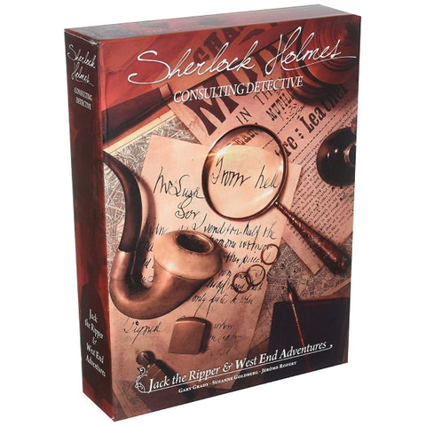 Sherlock Holmes Consulting Detective: Jack the Ripper & West End Adventures [Board Game, 1-8 Players]