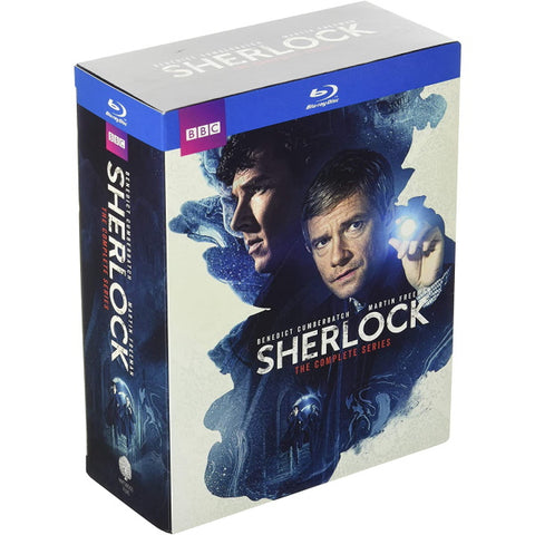 Sherlock: The Complete Series - Seasons 1-4 [Blu-Ray Box Set]