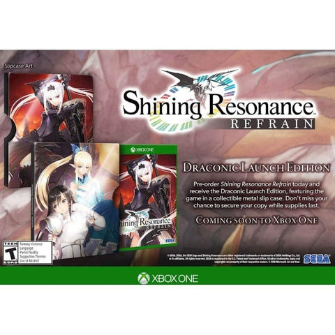 Shining Resonance Refrain - Draconic Launch Edition [Xbox One]