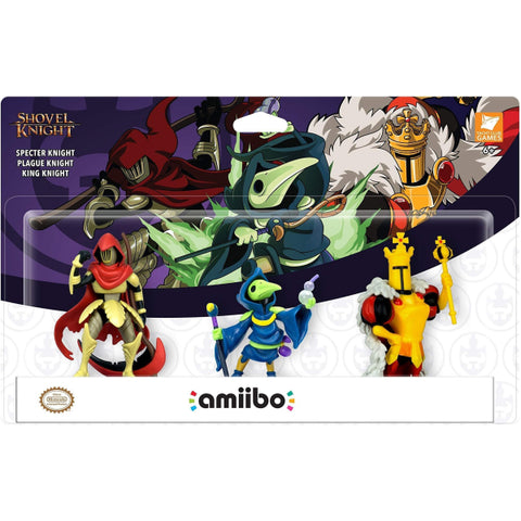 Shovel Knight Amiibo Treasure Trove 3-Pack  - Shovel Knight Series [Nintendo Accessory]