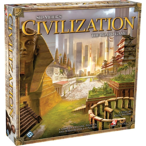 Sid Meier's Civilization: The Board Game [Board Game, 2-4 Players]