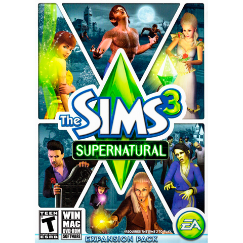 The Sims 3: Supernatural Expansion Pack [Mac & PC]
