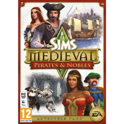 The Sims: Medieval - Pirates & Nobles [Mac & PC]