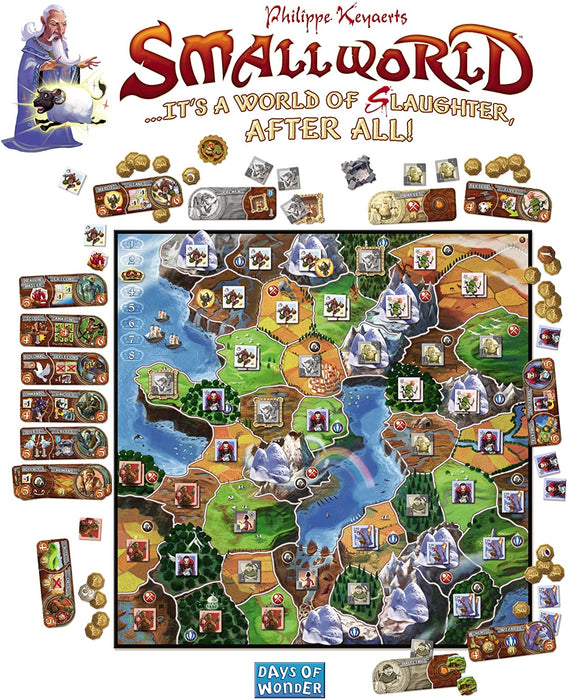 Small World [Board Game, 2-5 Players]