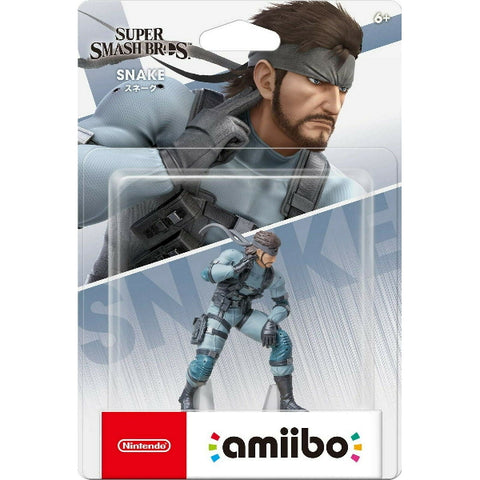 Snake Amiibo - Super Smash Bros. Series [Nintendo Accessory]