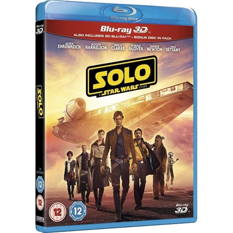 Solo: A Star Wars Story [3D + 2D Blu-Ray]