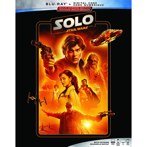 Solo: A Star Wars Story [Blu-ray + Digital]