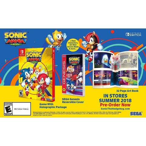 Sonic Mania Plus - Launch Edition [Nintendo Switch]