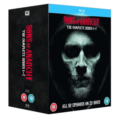 Sons Of Anarchy: The Complete Series 1-7 [Blu-Ray Box Set]