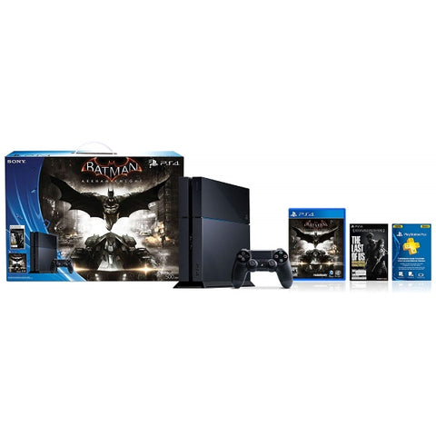 PlayStation 4 500GB Console - Batman: Arkham Knight + The Last of Us Bundle Edition [PlayStation 4 System]