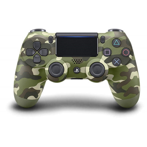 DualShock 4 Wireless Controller - Green Camouflage Edition [PlayStation 4 Accessory]