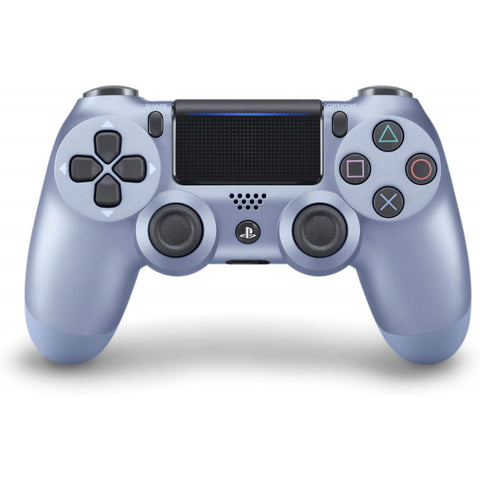 DualShock 4 Wireless Controller - Titanium Blue Edition [PlayStation 4 Accessory]