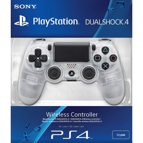 DualShock 4 Wireless Controller - Crystal Exclusive [PlayStation 4 Accessory]