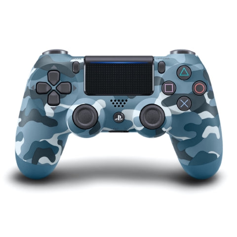 DualShock 4 Wireless Controller - Blue Camouflage [PlayStation 4 Accessory]