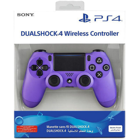 DualShock 4 Wireless Controller - Electric Purple [PlayStation 4 Accessory]