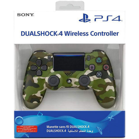 DualShock 4 Wireless Controller - Green Camouflage [PlayStation 4 Accessory]