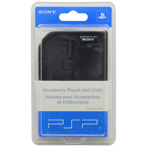 Sony PSP Accessory Pouch and Cloth [Sony PSP Accessory]