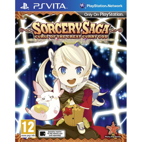 Sorcery Saga: Curse Of The Great Curry God [Sony PS Vita]