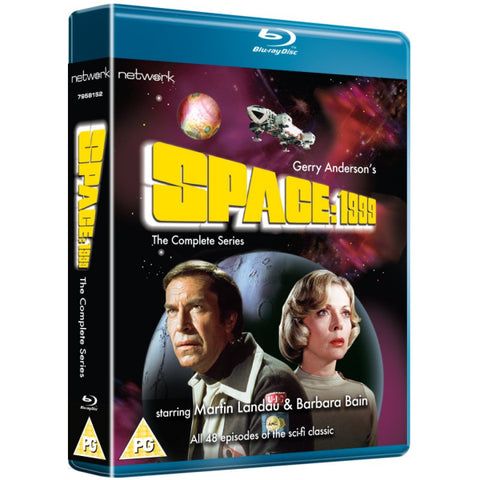 Space: 1999: The Complete Series - Seasons 1-2 [Blu-Ray Box Set]