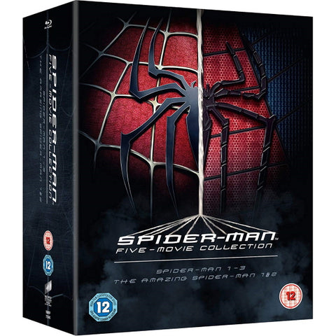 Spider-Man Five-Movie Collection [Blu-ray Box Set]