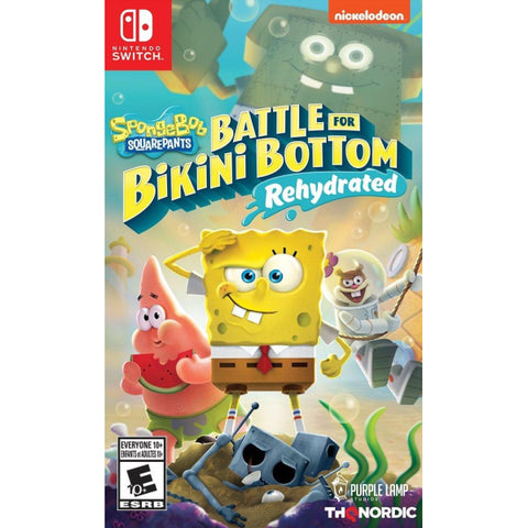 SpongeBob SquarePants: Battle for Bikini Bottom - Rehydrated [Nintendo Switch]