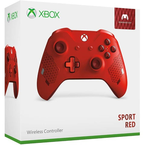 Xbox One Wireless Controller - Sport Red [Xbox One Accessory]