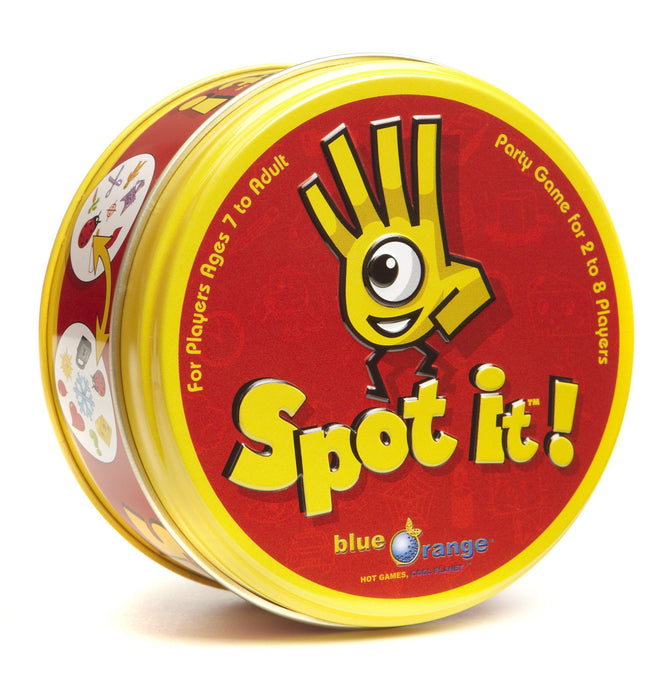 Spot It! [Card Game, 2-8 Players, Ages 7+]