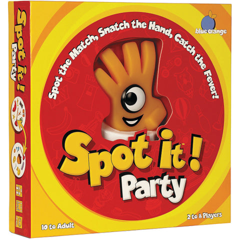 Spot It! Party [Card Game, 2-8 Players, Ages 10+]