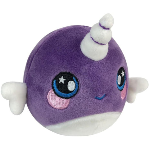Squeezamals Scented Plush - Nellie the Narwhal [Toys, Ages 4+]